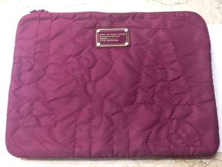 Marc Jacobs pink 13 inch laptop case