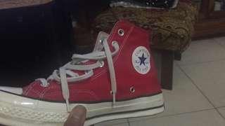 Converse 70s hi red