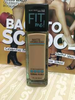 Maybelline Fit Me 322