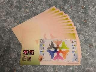 香港郵票 小全張 折票 85折 (5張起)