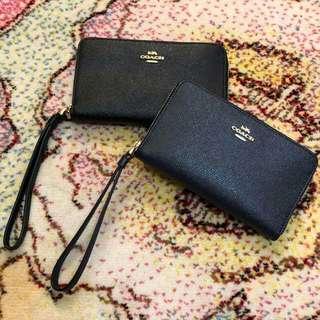 Coach wallet medium size