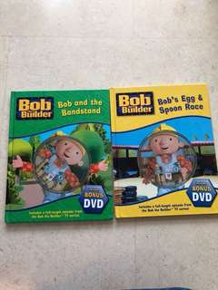Bob the Builder Books with DVD