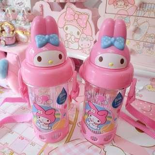 Sanrio My Melody Kids Girl Pink water Bottle BPA FREE