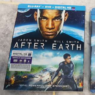 After Earth (Two Disc Combo: Blu-ray / DVD + UltraViolet Digital Copy) ( Slipcover)