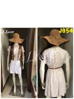 🚚 J954全新H&M純棉民族風小洋裝波西米亞 嬉皮mix&match多層次混搭搖滾 dress J-Lounge
