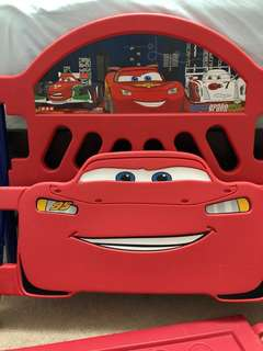 Lightning Mcqueen toddler bed