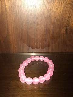 粉水晶串珠