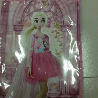 Frozen Anna & Elsa Dress Costume