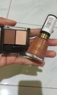 Kutek + eye shadow
