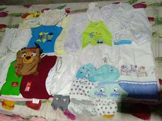Repriced!Assorted clothes for newborn