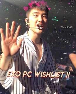 EXO PC WISHLIST