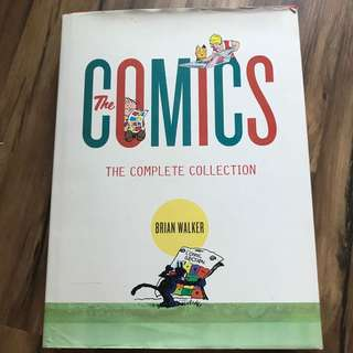 The Comics Complete collection guide book