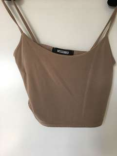 Missguided Nude Skirt and Top Set