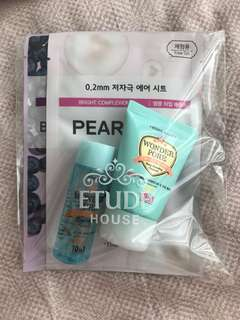 Etude House Wonder Pore Sample Set w Sheet Masks