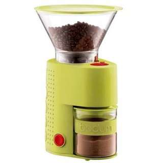 Bodum Bistro Burr Coffee Grinder Lime