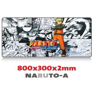 NARUTO-A 8030 Extra Large Mousepad Anti-Slip Gaming Office Desktop Coffee Dining Tabletop Decorative Mat