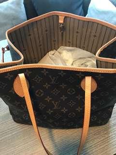 Rush Sale: Louis Vuitton NeVERFULL MM Korean Class A