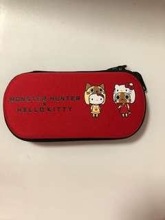 Hello kitty eye glass case