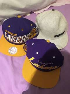 Los Angeles lakers SnapBack caps