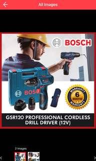 BN - Bosch Cordless Drill Driver 12V GSR 120-LI