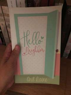 Hello Neighbor by Aril Daine (wattpad selfpub)