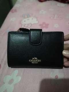 Preloved coach 2 fold wallet