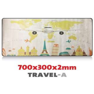 TRAVEL-A 7030 Extra Large Mousepad Anti-Slip Gaming Office Desktop Coffee Dining Tabletop Decorative Mat
