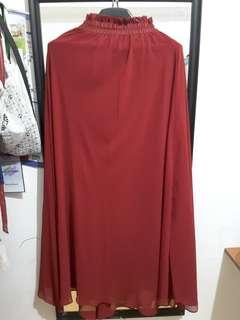 Long skirt Red