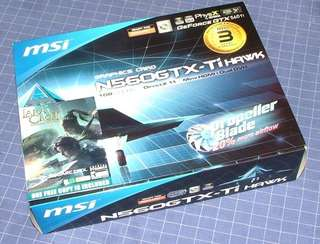 Msi gtx 560 ti hawk twin frozr iii box