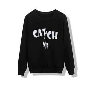 Catch Me Sweater Black