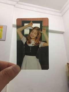 Dahyun Twice transparent 小卡