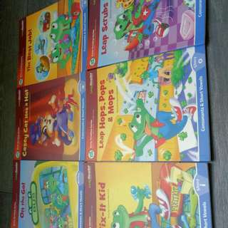 Leapfrog Reading Series 6 Books Include delivery Via Smart-pac