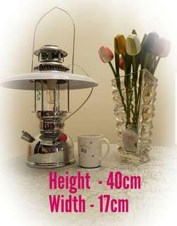 Brand new LED fitted oil kerosene table lamp retro antique wall ceiling garden light lantern