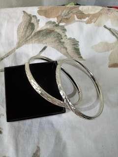 Silver 925 bangle bracelet