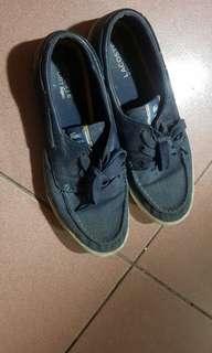 🚚 正品 Lacoste  藍色  休閒鞋