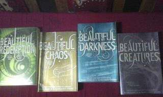 Beautiful Creatures Complete Series by Kami Garcia and Margaret Stohl