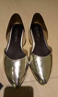 平底鞋銀色