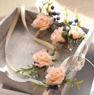 [Rental] Corsages and boutonnière