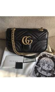 Authentic GG Gucci Marmont mini Matelasse