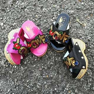 Girl Shoes Wedges
