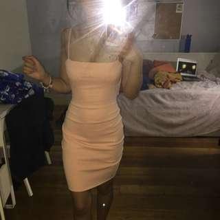 Pink/Nude Kookai Dress Size 2