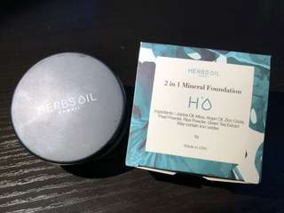 Herbs' Oil Mineral Foundation 素肌珍珠礦物碎粉 #1