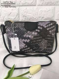 LEATHER BAG Size: 7x9 inches  Price : 280