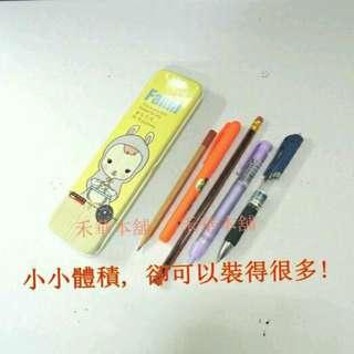 🚚 禾華本舖 卡通鉛筆盒 學生鉛筆盒 隨身攜帶型鉛筆盒 輕鐵鉛筆盒 迷你鉛筆盒