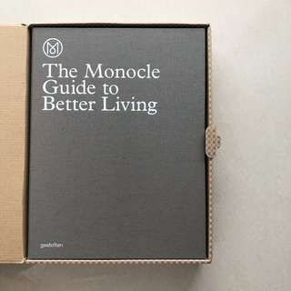 The Monocle Guide to Better Living Deluxe Limited Edition