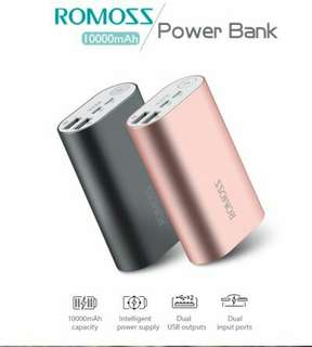 2 items for the price of 1 -Romoss Ace Powerbank and Ipad shockproof case