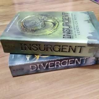 Divergent and Insurgent SET by Veronica Roth