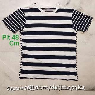 32e21d76f3 stripe shirt top   Pakaian   Carousell Malaysia