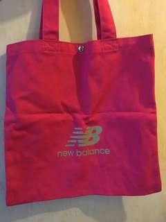New balance Tote Bag(pink)