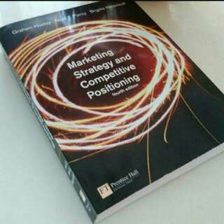 Marketing Strategy & Competitive Positioning by Prentice Hall